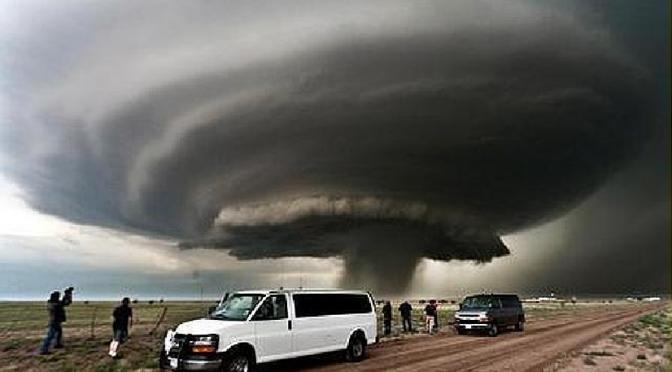 Cazadores de tormentas