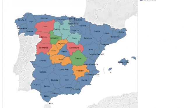 Madrid, distrito federal. Las Leyes de Concentración Parcelaria