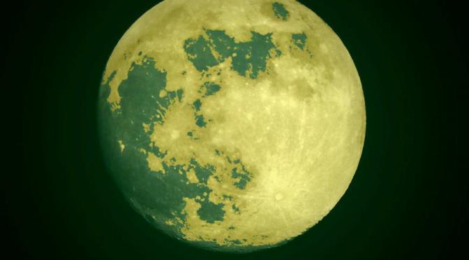El extraño fenómeno de la Super Luna