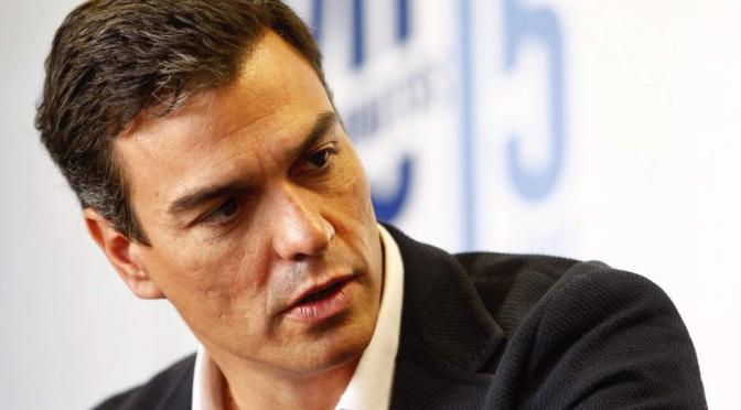 El PSOE descentrado de Sánchez pierde el Norte