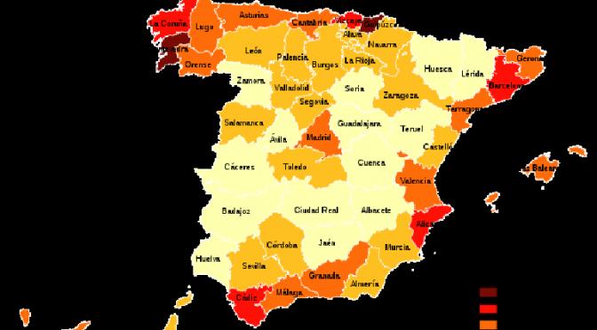 ¿Como es el nuevo mapa electoral de España?