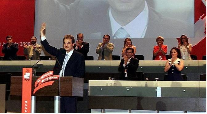 La elección de José Luis Rodríguez Zapatero